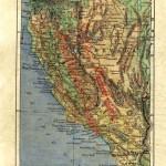 Bartholomew map of California