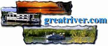 Steamboats houseboats and fantastic sunsets offer only a for Clements fishing barge