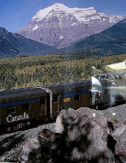 Click photo for a complete review of our VIA RAIL journey from Vancouver to Jasper