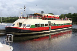 Click photo of the SHANNON PRINCESS to see our full review of visiting Ireland with Gourmet Chef, Olivia Powers.