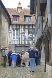 We generally planned for a walking tour and a bus tour on shore each day. Our