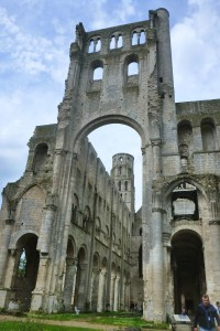 Abbaye de Jumieges, one of the most beautiful ruins in France.