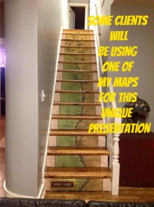 stairway map